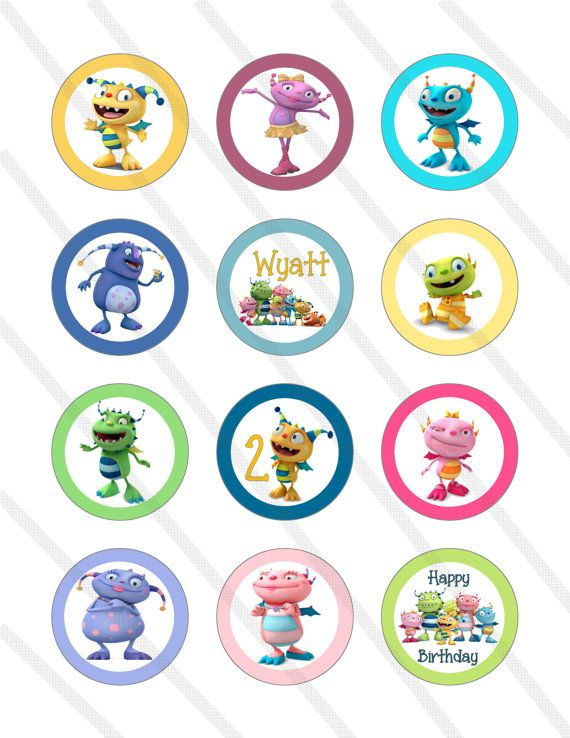 Disney Henry Hugglemonster Birthday Party 2 by KrittsKreations, $5.00