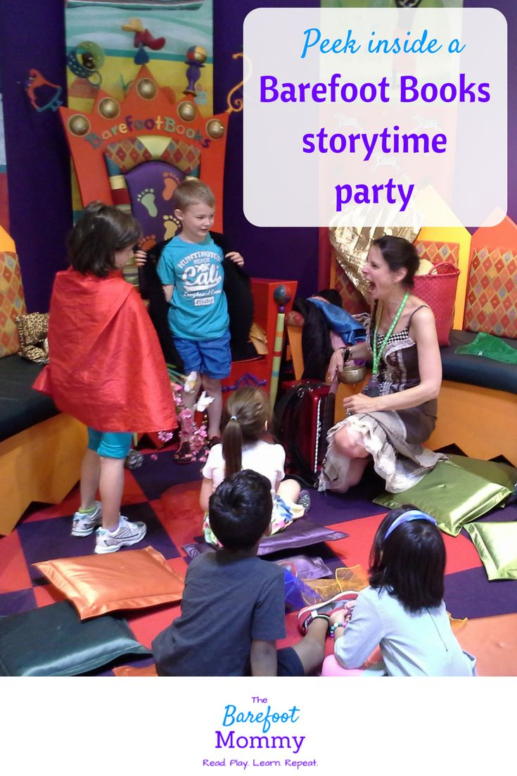 Hosting a Barefoot Books family-friendly storytime party combines  lots of fun…