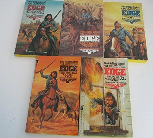 Author George G. Gilman Five Book Bundle Includes #37 - #... https://www.amazon.com/dp/B004DYQDGY/ref=cm_sw_r_pi_dp_x_TiVvzbE218SMN