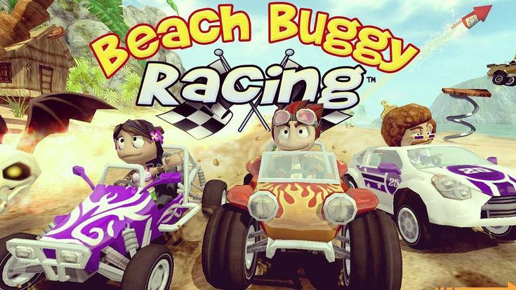 Download now Beach buggy racing hacked with unlimited