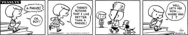 Charlie Brown and Snoopy Parade! <3