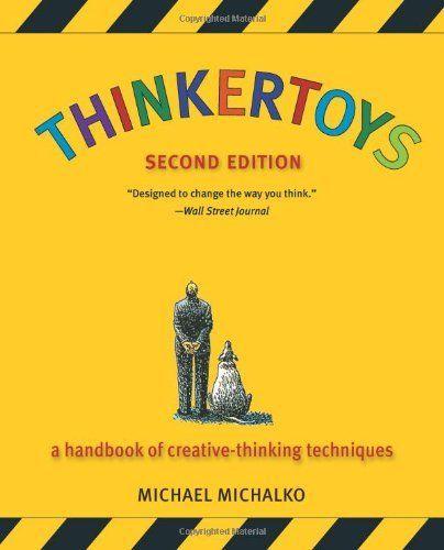 Thinkertoys: A Handbook of Creative-Thinking Techniques (2nd Edition) by Michael Michalko, http://www.amazon.com/dp/1580087736/ref=cm_sw_r_pi_dp_d4FVpb1YR8MTY
