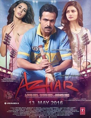 Azhar (2016) Hindi Full Movie 300MB Download