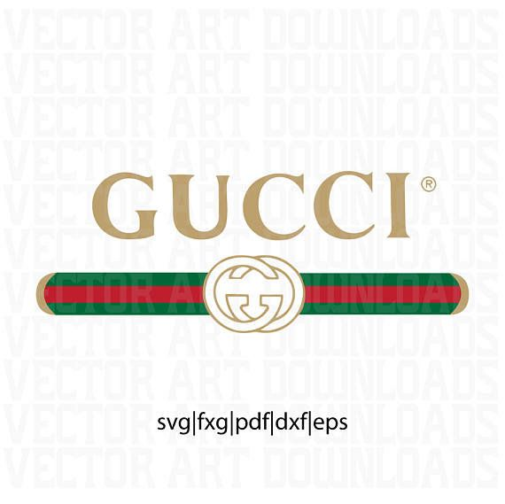 c2c550e7860af Gucci Washed Inspired Logo Vector Art (DXF, EPS, SVG, png, jpg) file ...