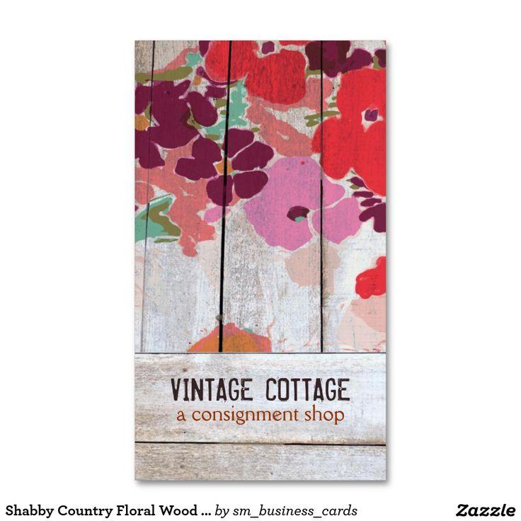 Boutique de madera floral del envío del país lamen plantilla de tarjeta de visita