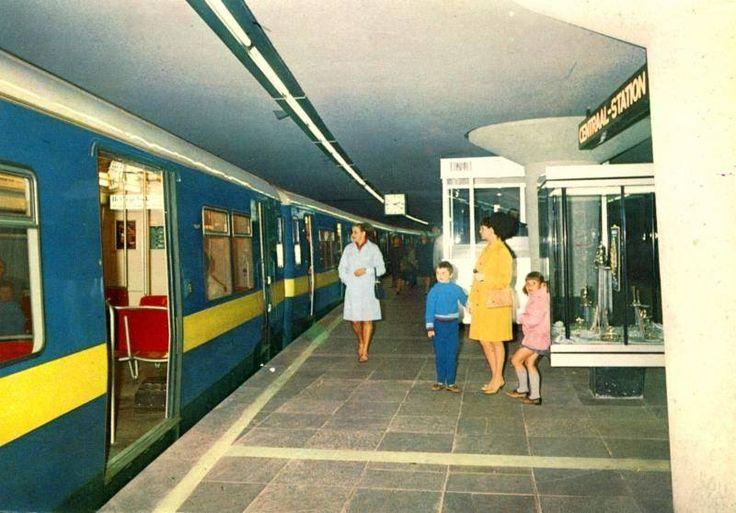 Metrostation Centraal station 1968