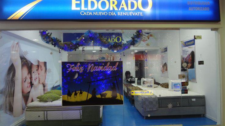 Vitrina Navideña Almacén El Dorado !!!