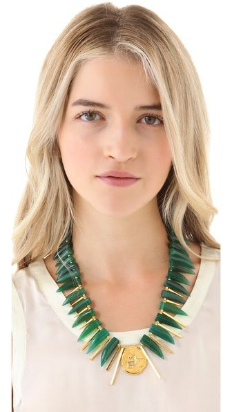 This @gemmaredux necklace is AMAZE. Want. want. want.: Jewelry Necklaces, Design Necklaces, Fastest Free, Shopbop Com, Necklaces Fastest, Necklaces Online, Gemmaredux Necklaces, Horns Necklaces, Agates Horns
