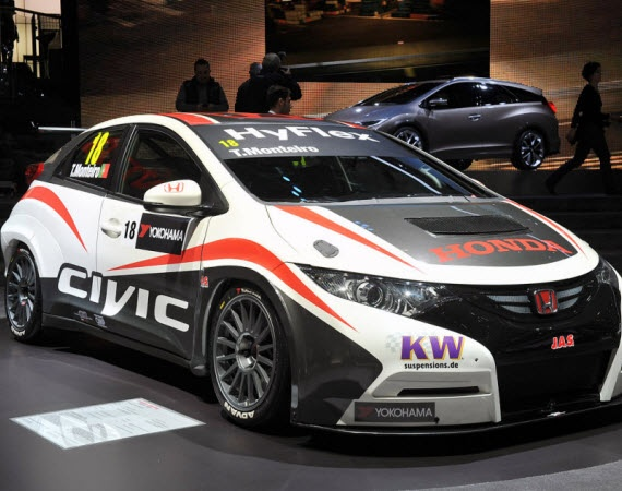2013 HONDA CIVIC WTCC RACECAR