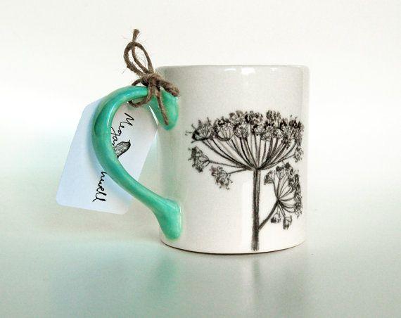 17 best ideas about hand painted ceramics on pinterest - Ceramic mug painting ideas ...