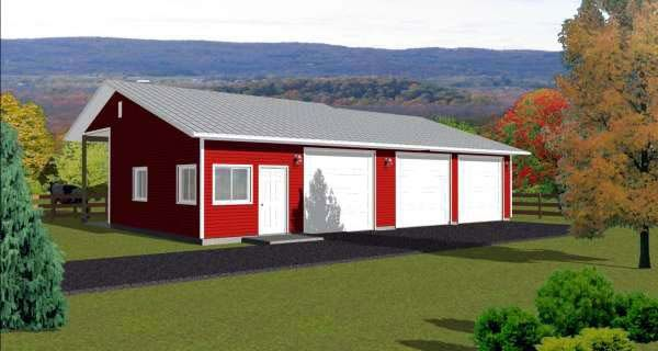 Boat shed plans woodworking projects plans for Boat garage plans