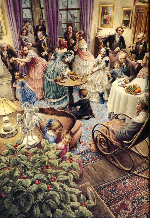 """A Christmas Carol"" illustrated by Roberto Innocenti"