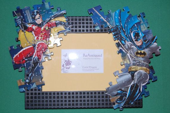 batman and robin puzzle picture frame robins pictures and frames