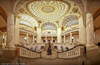 Rotunda of the Clinton County OH Courthouse