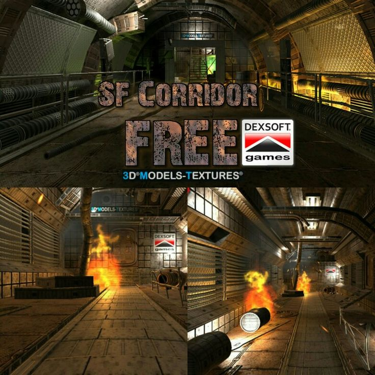 Get your free pack: https://www.3dmodels-textures.com/FREESFCorridors