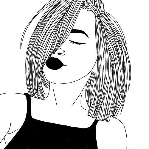 dessins de fille tumblr  | ajouté août 14 2015 taille de l image 500 x 500 px plus de www ...