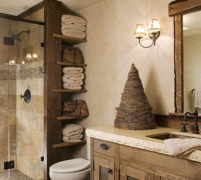 Cute Rustic Bathroom Shelves Ideas Best Rustic Bathroom Decor Ideas Amazing Rustic Bathroom Designs Ba In 2020 Glamorous Bathroom Decor Rustic Bathroom Decor Decor