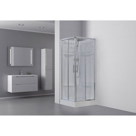 23 best images about salle de bains leroy merlin trignac - Cabine de douche fabrication francaise ...