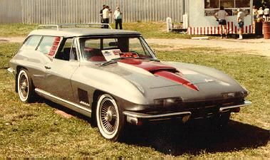 '67 Corvette Wagon...would so rock this!