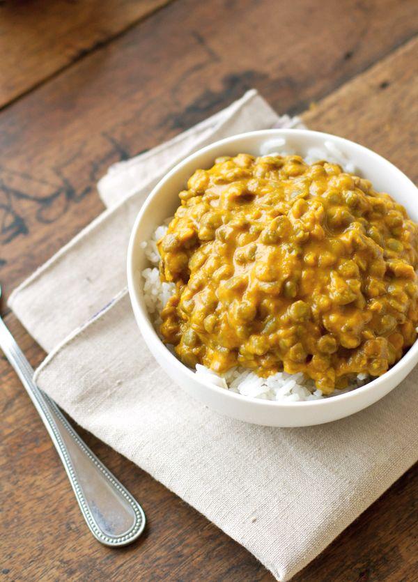 Kabocha Squash Lentil Curry