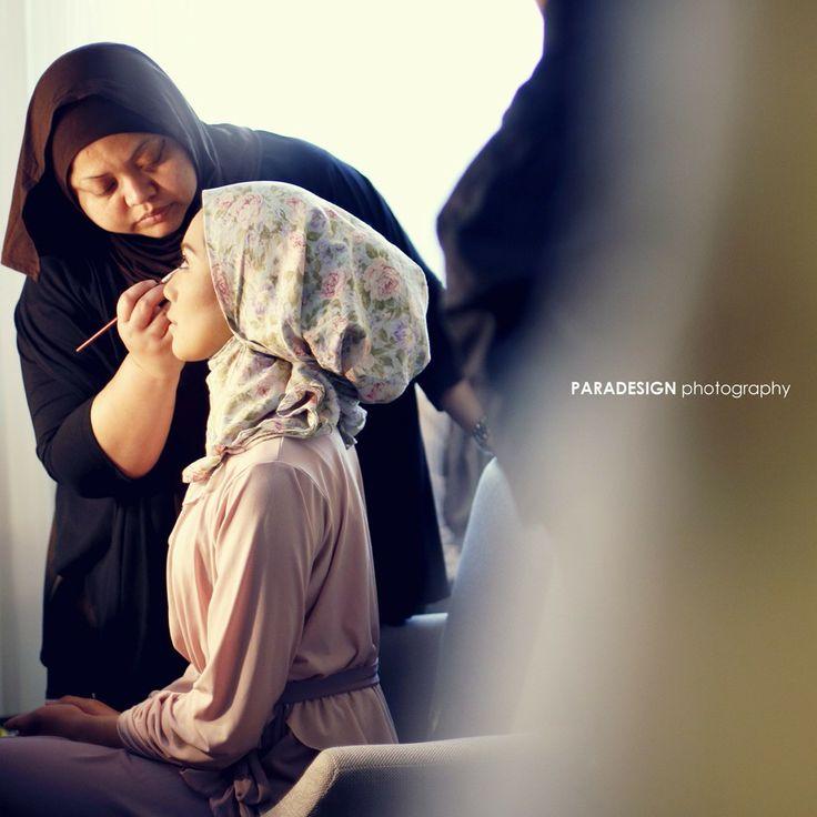 Moslem bride #makeup