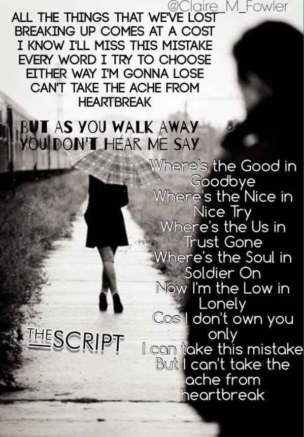 32 best The Script Lyrics images on Pinterest | Lyrics, Music ...