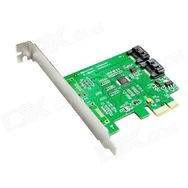 Supports two SATA Supports AHCI 1.0 and IDE programming interface. Supports Native Compand Queuing (NCQ). Supports Port Multiplier FIS based switching or command based switching. Supports Partial and Slumber Power Management states. Supports Hot plug and Hot Swap. Compatible with SATA 6G, 3G and 1.5G Hard Drives http://j.mp/1lky7AV