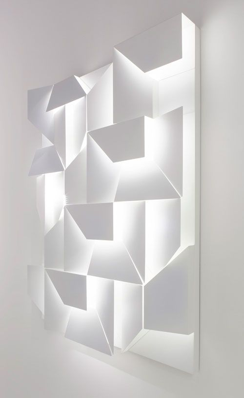 Wall Shadows by Charles Kalpakian for Omikron #Design