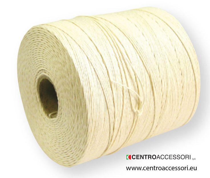 Spago lino etichetta celeste. Twisted thread for blake shuttle. #CentroAccessori