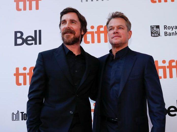 Tiff19 Christian Bale Matt Damon Form Brotherhood In Ford V