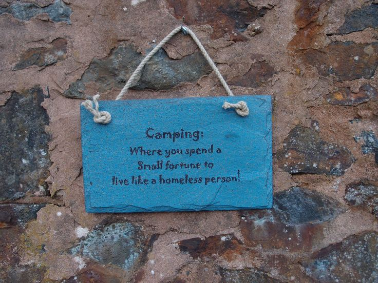 Engraved humorous slate plaque