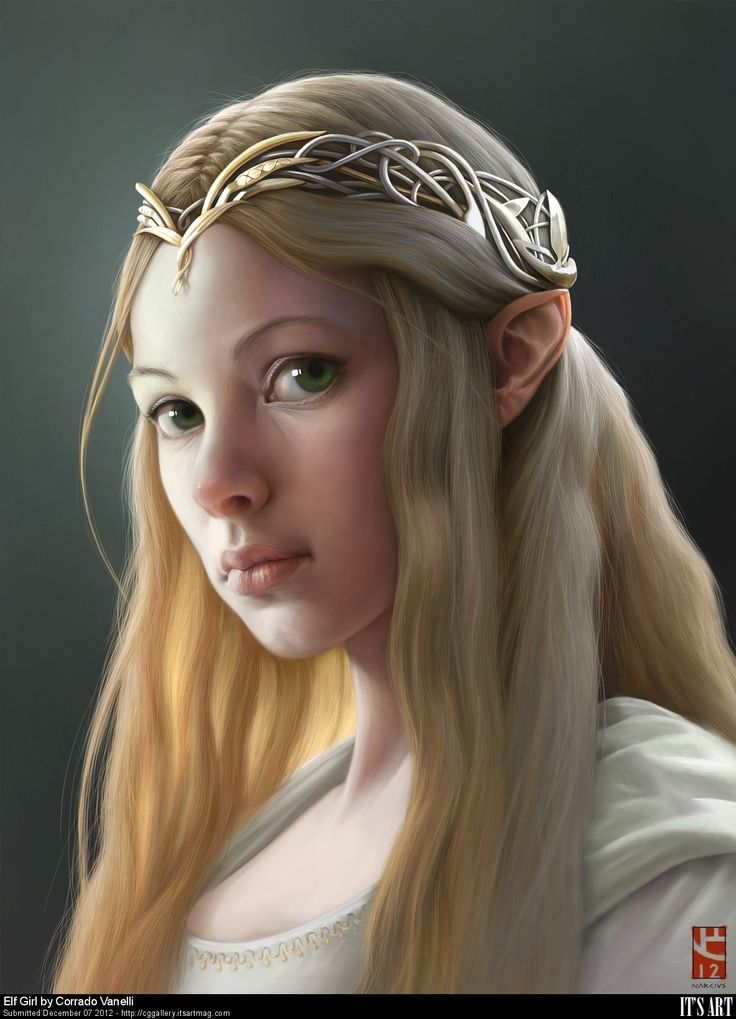 Elf Girl by Corrado Vanelli