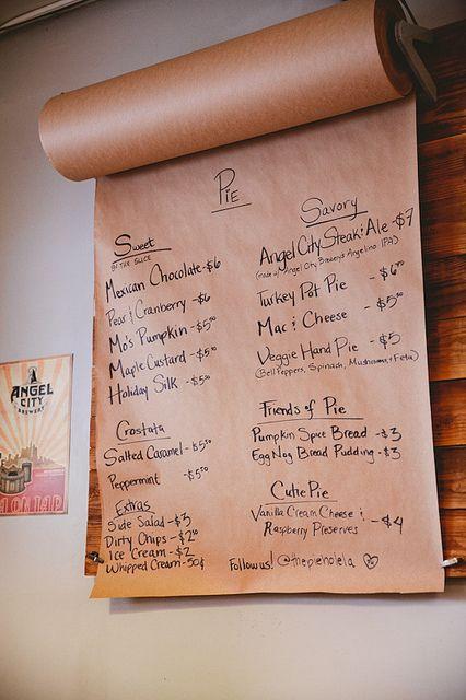 Rotating Menu idea | The Pie Hole