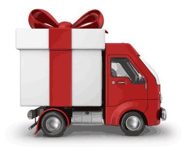 Seasonal gift delivery vehicle!