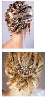 beachy wedding hair