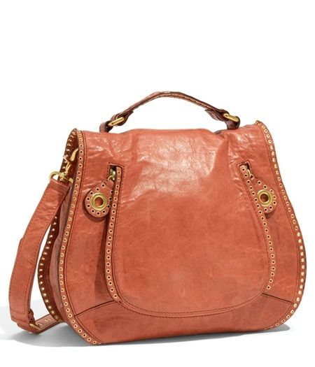 Rebecca Minkoff Vanity Glazed Leather Crossbody Bag