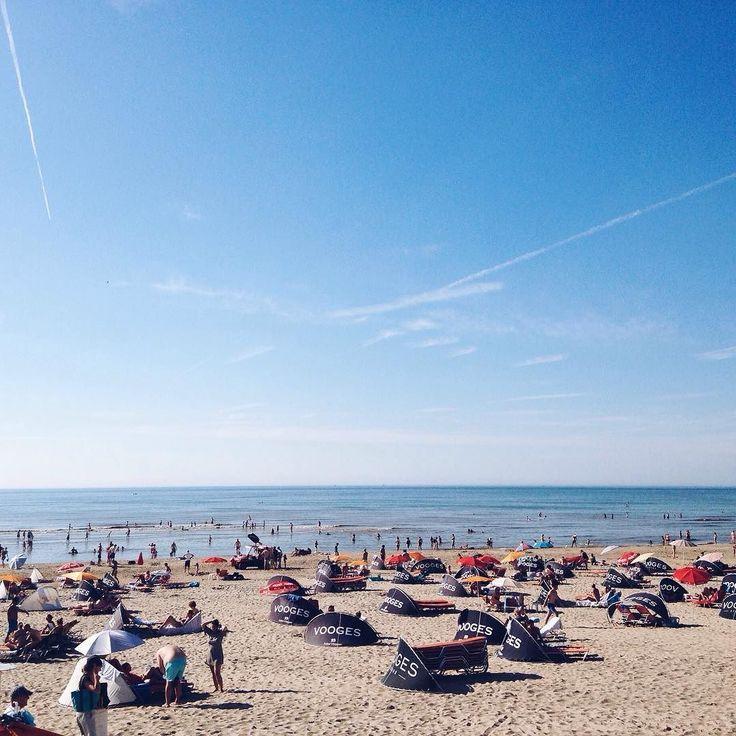 Onze achtertuin #strand #vooges #zandvoort #beach #haarlemcityblog #haarlem