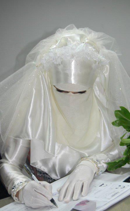 NIQABI....BRIDE.....PARTAGE OF MsJ AMANO...