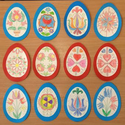 Játékos tanulás és kreativitás: Hímes tojások magyaros mintával