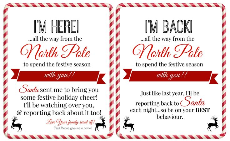 Elf on a Shelf FREE Printables!  http://superbusymum.net/free-elf-shelf-printables/
