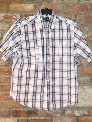 ecko unltd button up 2xl short sleeve dress shirt