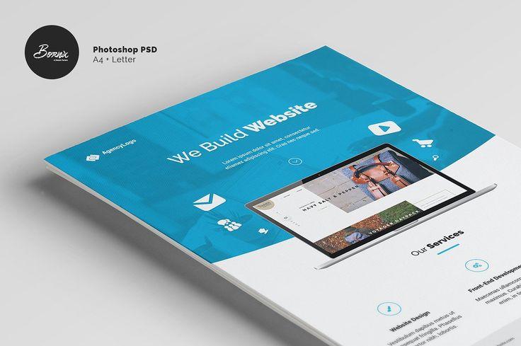 11 Best Web Design Flyer Images On Pinterest Design Web Design