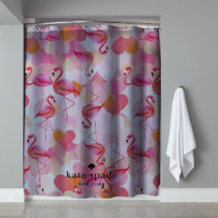 """New Rare Pink Flamingo Custom Kate Spade Exclusive Design Shower Curtain 60""""x72"""" #Unbranded #Modern #Cheap #New #Best #Seller #Design #Custom #Gift #Birthday #Anniversary #Friend #Graduation #Family #Hot #Limited #Elegant #Luxury #Sport #Special #Hot #Rare #Cool #Top #Famous #Shower #Curtain"""