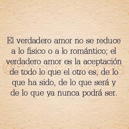 El verdadero amor!!!!!!!!