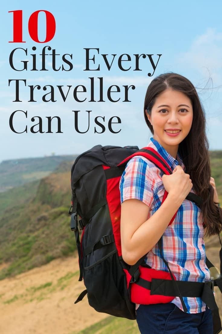List of Gift Ideas for Travellers. I'm talking about things they can actually use!