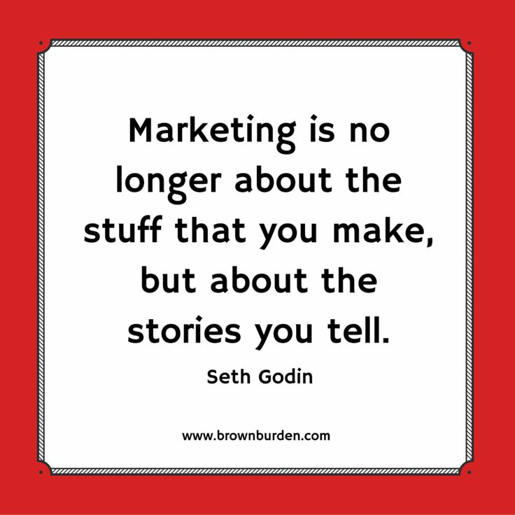 What story are you telling about you and your business?  www.brownburden.com