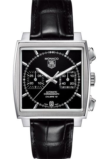 Tag Heuer Monaco. (Steve McQueen and Speed Racer approved.)