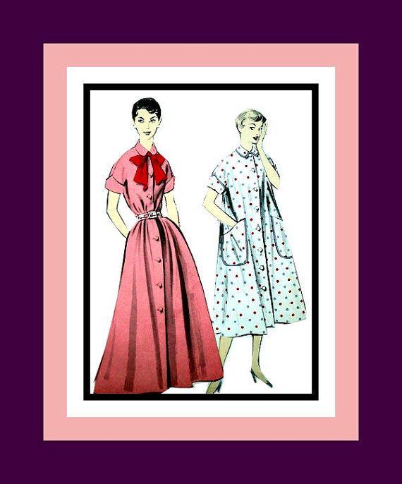Vintage 1950s Posh Ladies Duster Style by FarfallaDesignStudio, $10.00