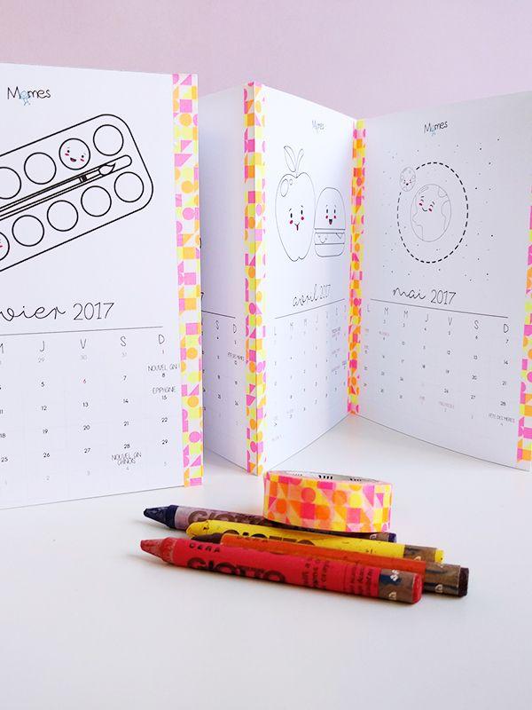 Pour vous souhaitez une belle année 2017, Momes a créé ce joli petit calendrier 2017 à imprimer et à colorier ! Un calendrier mensuel très pratique : dates des fêtes et jours fériés, dates des vacances scolaires, il y a toutes les informations nécessaires. Il ne vous reste plus qu'à y ajouter vos dates importantes à vous !