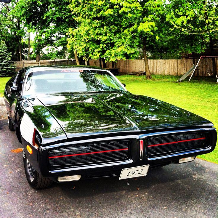 The Little Black Dress- Miss Mopar's 1972 Dodge Charger.   Visit us on FaceBook- Facebook.com/MissMopar